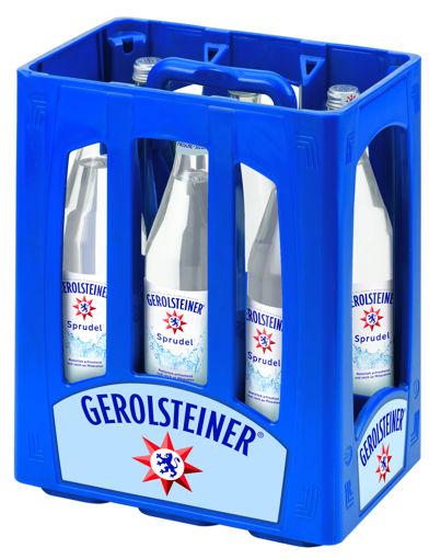 Afbeeldingen van GEROLSTEINER SPRUDEL GLAS 6X1L