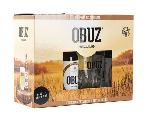 Afbeeldingen van OBUZ 6X33CL + GRATIS GLAS